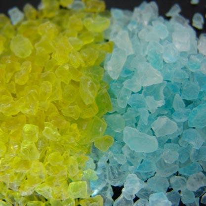 Gel di silice indicatore - secco e saturo