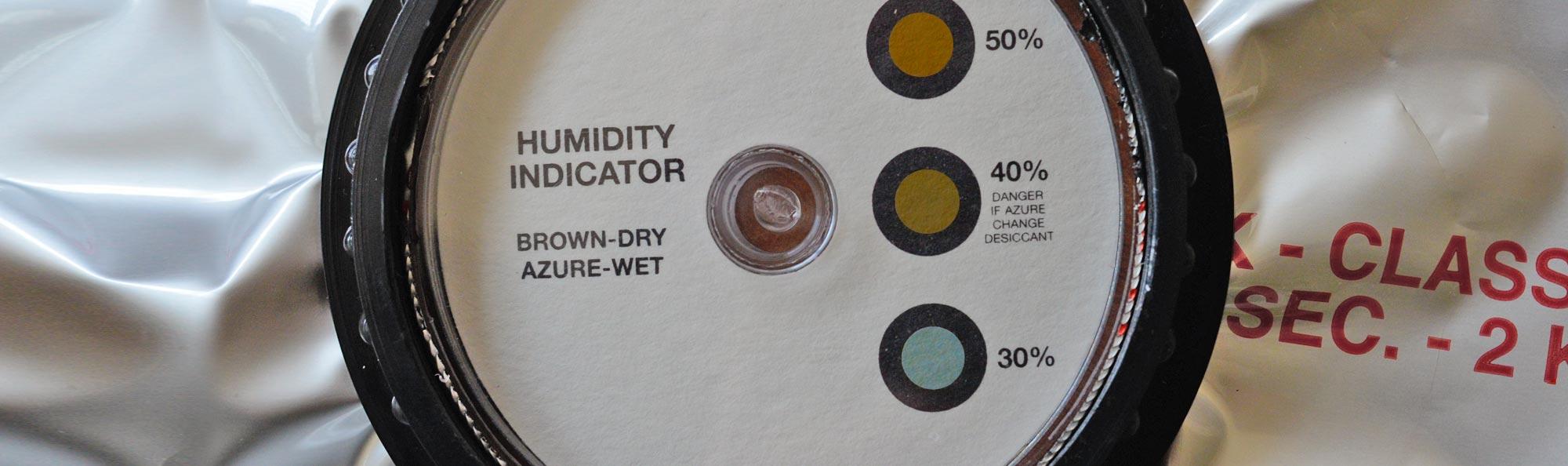 Levosil - produzione Indicatori di Umidità ad Oblò