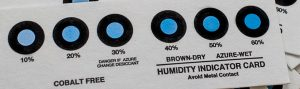 Indicatori di Umidità Senza Dicloruro di Cobalto
